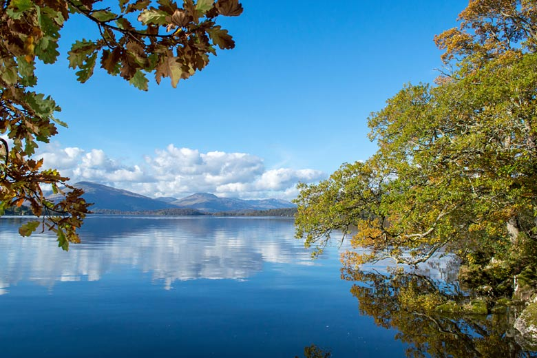 Beautiful autumn weather at Loch Lomond, Scotland, UK © Martynas - Adobe Stock Image