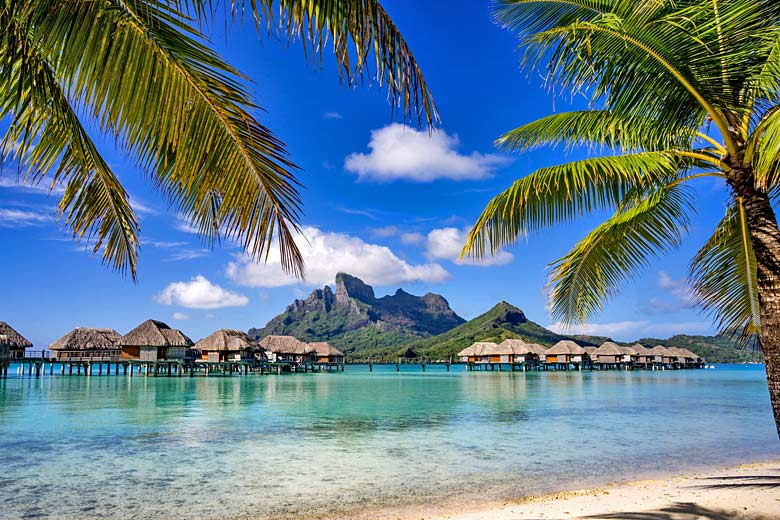 Bora Bora, probably the remotest of all honeymoon destinations © Mike Liu - Fotolia.com