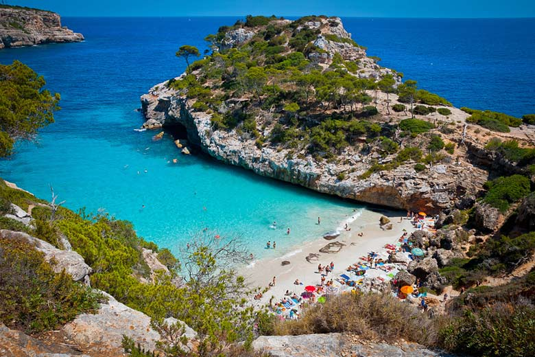 Calo des Moro, a typical cove in Majorca © MarkusBeck - Fotolia.com