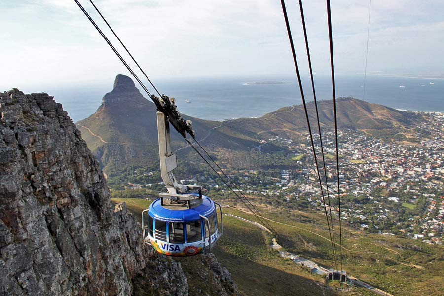 Cape Town Table Mountain © flowcomm - Flickr Creative Commons