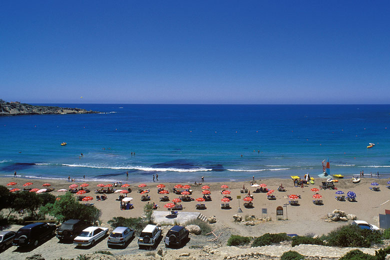 Coral Bay, Paphos, Cyprus - photo courtesy of Cyprus Tourism Organisation