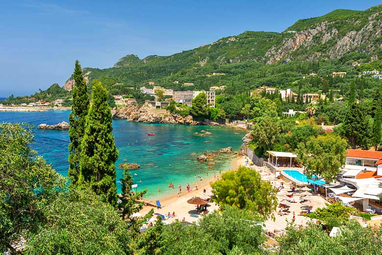 Visit Corfu in July for the best weather © Lukas Zimilena - Fotolia.com
