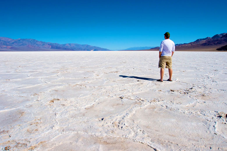 Death Valley, California, the hottest place on earth - courtesy of Ken Kistler