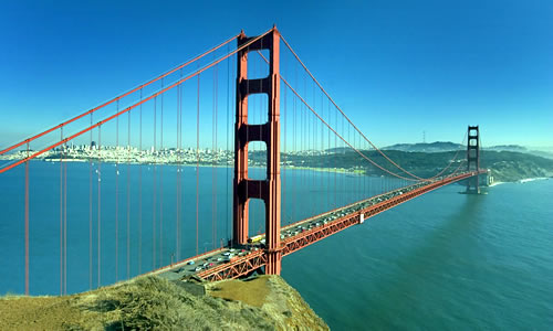 The Golden Gate Bridge, San Francisco, California, USA © John Arnold