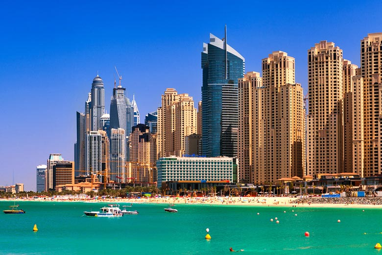 JBR Beach on a clear day in winter © Miroslav Petrasko - Flickr Creative Commons