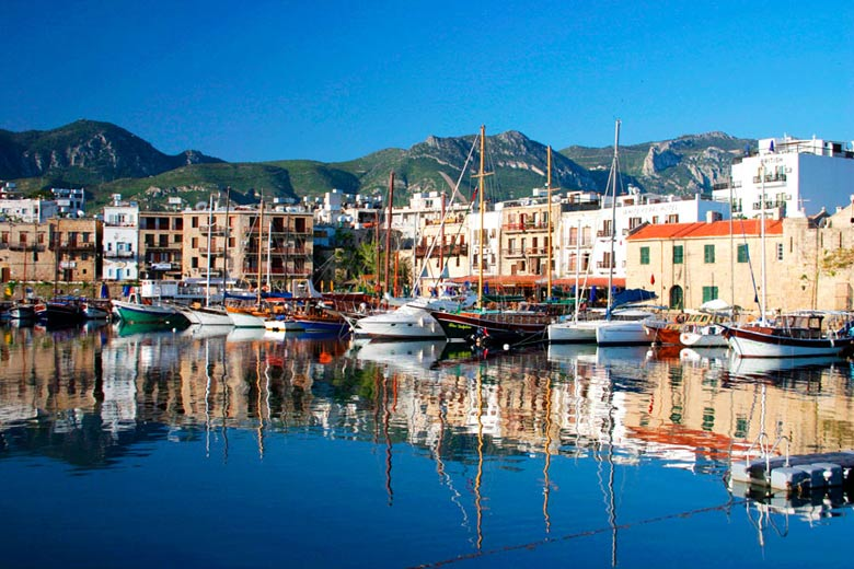 Kyrenia harbour, Northern Cyprus - photo courtesy of Northern Cyprus Tourism