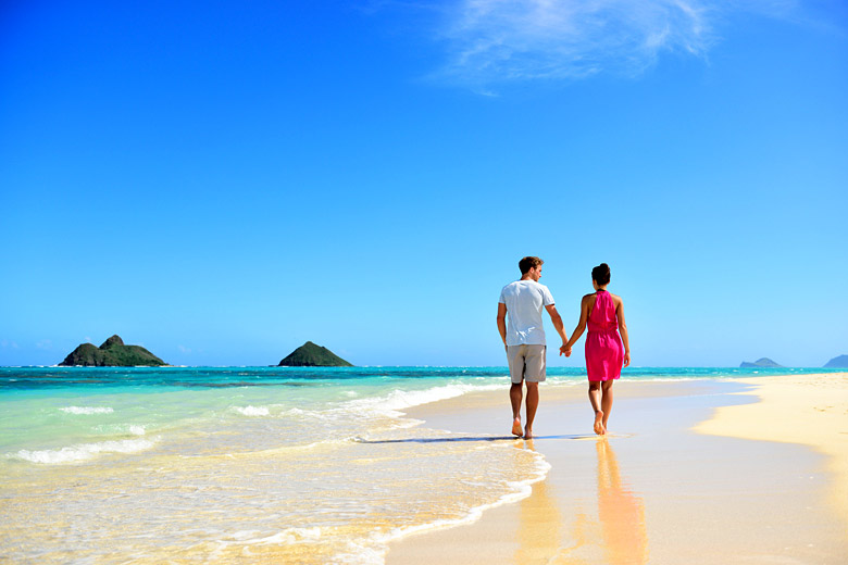 Lanikai Beach, Oahu - Hawaii honeymoons © Maridav - Fotolia.com