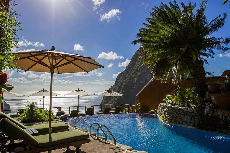 Caribbean honeymoons - Luxury resort in St Lucia © Randy Lafontaine - photo courtesy of Saint Lucia Tourist Board
