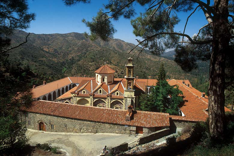 Monastery in the Troodos Mountains - photo courtesy of Cyprus Tourism Organisation