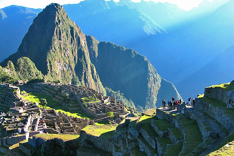 Machu Picchu 8,000ft above sea level has some of the highest UV in the world © Bill Damon - Flickr Creative Commons