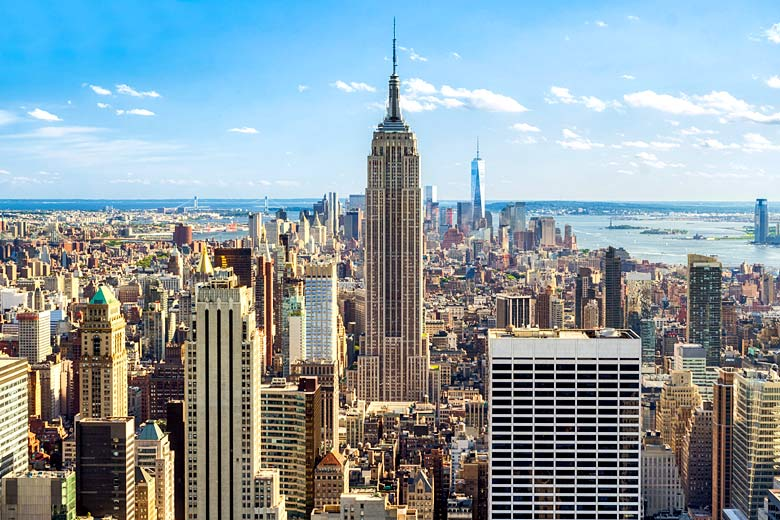 Manhattan skyline, New York © Eyetronic - Fotolia.com