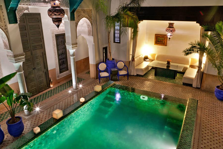 Book a stay in one of Marrakech's many beautiful riads, Morocco - photo courtesy of www.riadfarnatchi.com