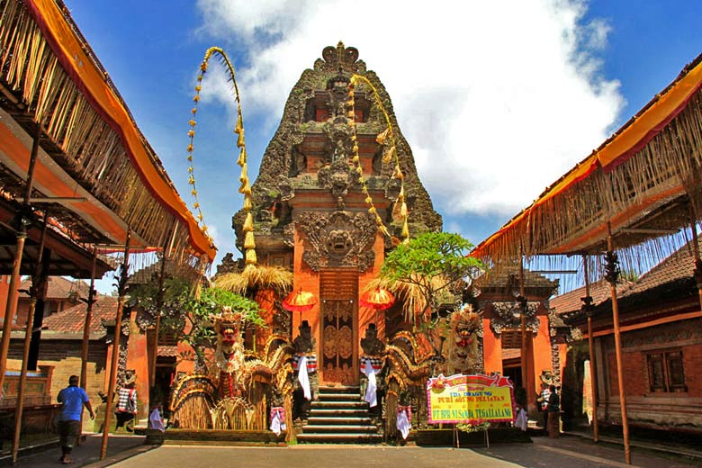 Entrance to the temple in Peliatan - photo courtesy of Ministry Of Tourism, Indonesia