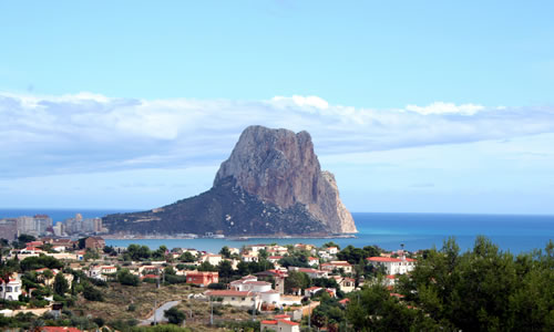 Penon de Ifach at Calpe, Costa Blanca, Spain © George Green