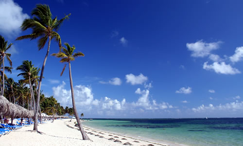 Resort Beach at Punta Cana in the Dominican Republic