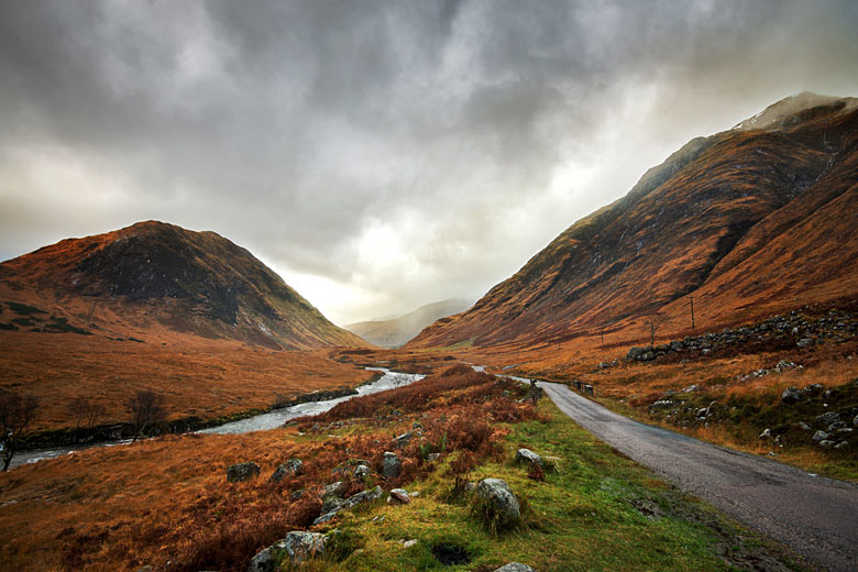 Rainfall in the highlands of Scotland © Demelza - Fotolia.com