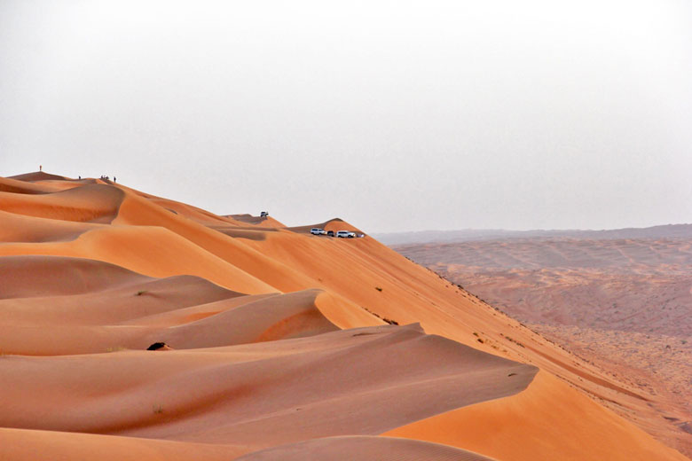Dunes near the Desert Nights Camp, Oman © Prasad Pillai - Flickr Creative Commons