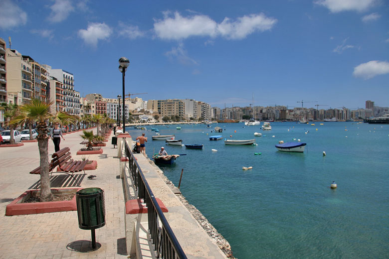 Sliema waterfront, Malta © lloydi - Flickr Creative Commons