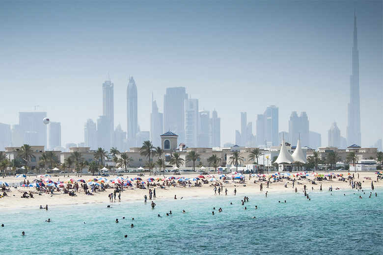 A summer's day on Jumeriah Beach, Dubai © avdons - Fotolia.com