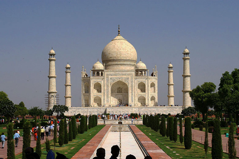 The Taj Mahal in Agra, India © Bryan Allison - Flickr Creative Commons