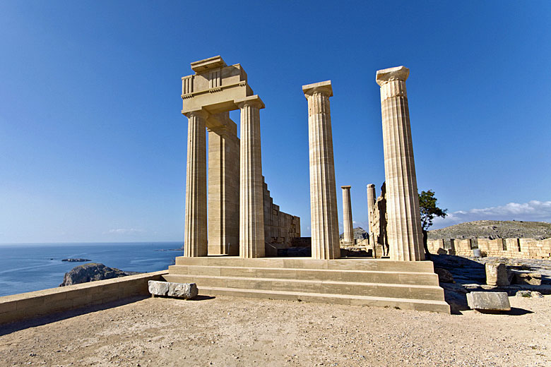 The temple of Athena at Lindos, Rhodes © Panos - Fotolia.com