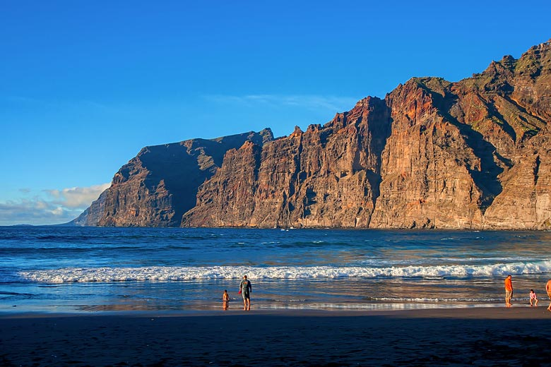 Seas are calmest in Tenerife in July and August when the weather in the Atlantic is more settled