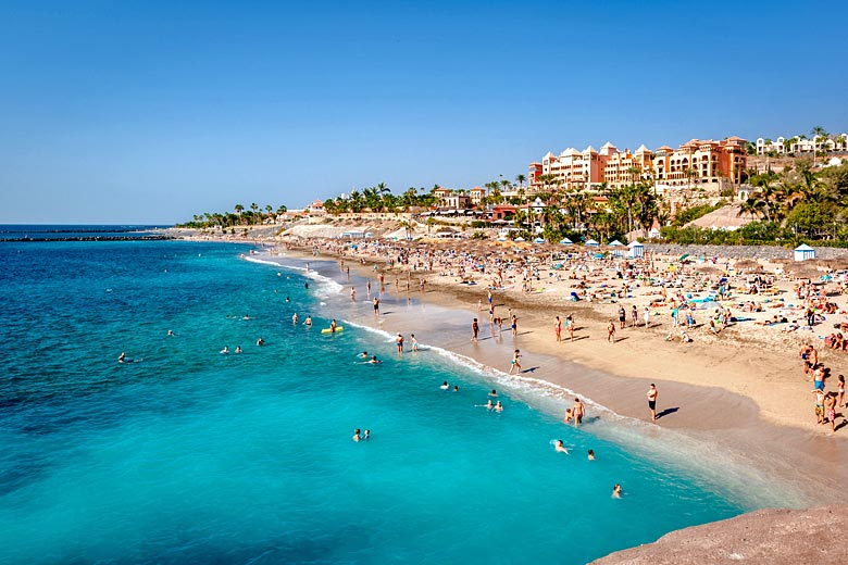 Sea temperatures in Tenerife are at their warmest in September around 24°C