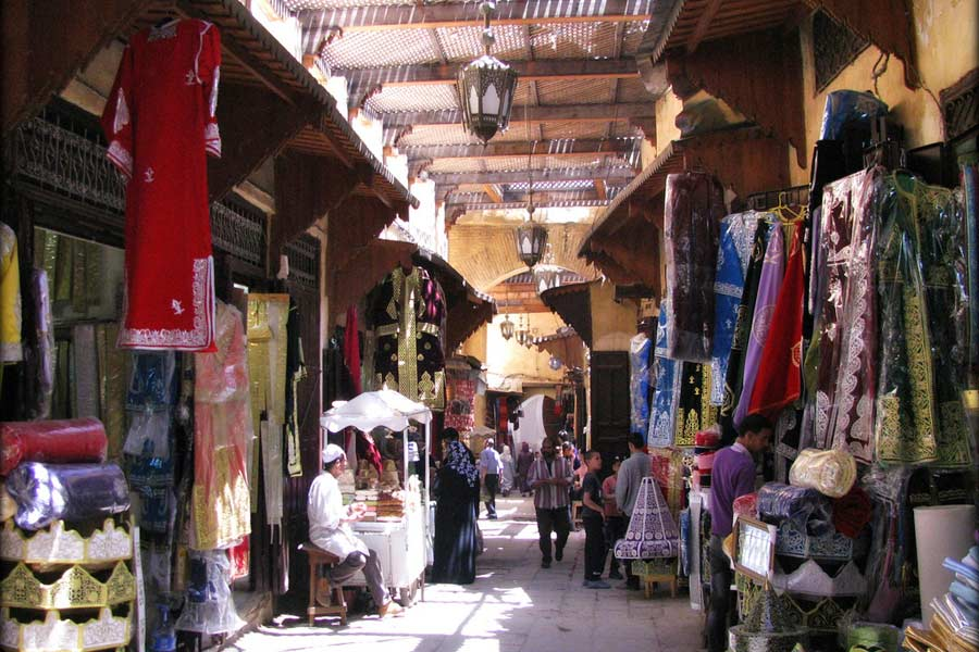 The souk in Marrakech © Bhakti Dharma - Flickr Creative Commons